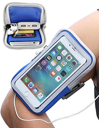 iPhone Armband, iMangoo iPhone 6S Plus Armband Sports - Armband Case Holder Bag