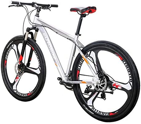 LZBIKE Bicycle X9-29 Aluminum Alloy Mountain Bike 21 Speed Shift Left 3 Right 7 Frame Shock Absorption Mountain Bicycle
