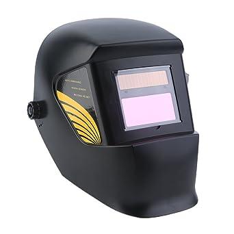 Casco Solar Mascara Soldadura- Alimentado de Soldadura de Oscurecimiento Automático Máscara de Soldadores