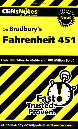 CliffsNotes on Bradbury's Fahrenheit 451