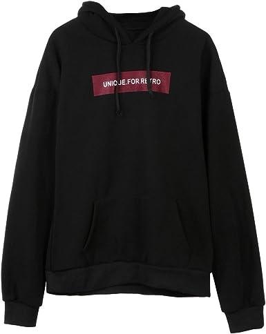 Auwer Hoodies Mens Shirt Long Sleeve Sweatshirt Hooded Tops Jacket Coat Outwear