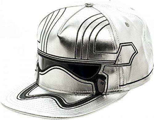 [Star Wars 7 Captain Phasma Bigface Snapback Baseball Hat] (Pop Culture Halloween Costumes For Guys)