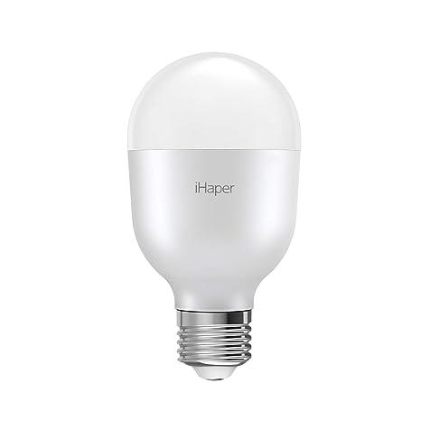 7WiHaper Inteligente para HomeKitAmazon WiFi Regulable Se LED Alexa E27 iOSNo Requiere y para Apple Bombilla Bombilla HubSoporte WiFi solo UzpSVqM