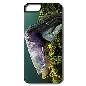 linfenglinCustomize Geek Interior Scratch Protection Cuttlefish Under Sea IPhone 5/5s Case For Birthday Gift