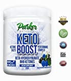 Exogenous Ketone Weight Loss Supplement: Parker Naturals Beta Hydroxybutyrate BHB Salts for Ketosis, Energy, Fat Burning & Focus - Healthy Ketogenic Diet Mix with Magnesium & Calcium - Delicious