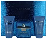 Versace Man Eau Fraiche Gift Set: 1.7 oz EDT, Shampoo & Shower Gel