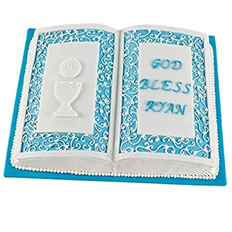 Amazon.com: Baking Cake Mold Bakeware Aluminum Book Shape Cake Mold // Molde de pastel hornear utensilios para hornear de aluminio molde libro torta de: ...
