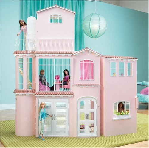 Mattel Barbie 3 Story Dream House Playset Import It All