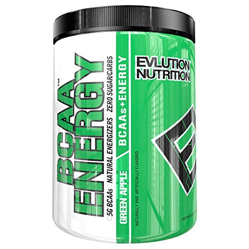 Evlution Nutrition BCAA Energy, Green Apple, 30 Servings