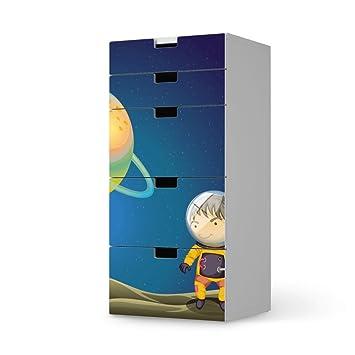 Klebefolie Sticker Aufkleber Für IKEA Stuva Kommode Kommode   5 Schubladen  | Möbel Verschönern Designfolie Möbelfolie