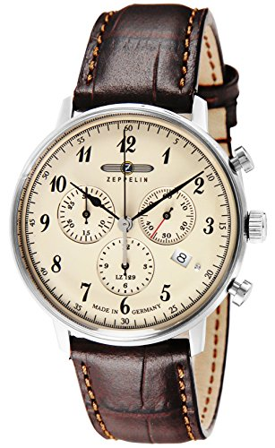 ZEPPELIN Hindenburg Quartz Men's Chronograph Watch 7086-4