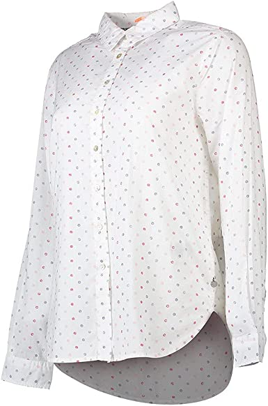 PEPE JEANS DONA P - Camisa de Manga Larga Mujer Color: Blanco ...