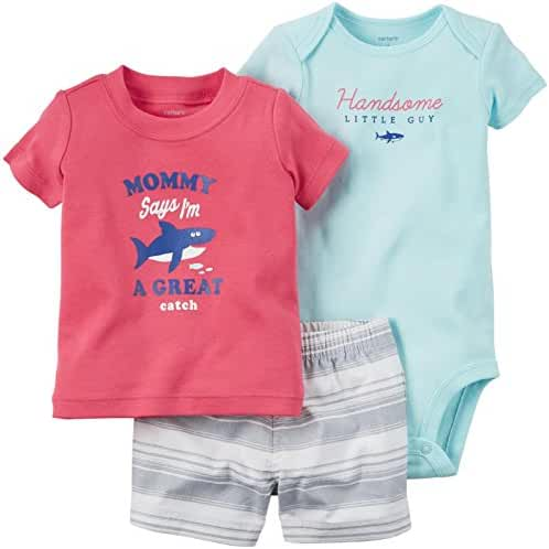 Carter's Baby Boys' 3 Piece Layette Set (Baby)
