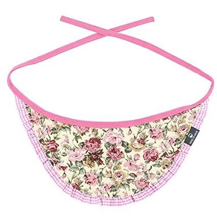 eDealMax Collar de perro Para mascotas Mezclas de algodón Impresa Flor pañuelo Para el Cuello del