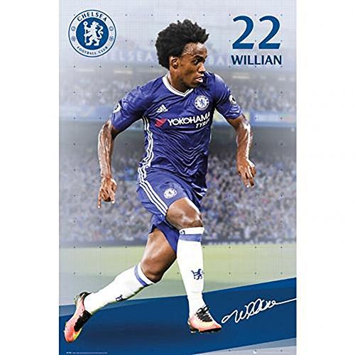 Poster - Chelsea F.C Willian 79