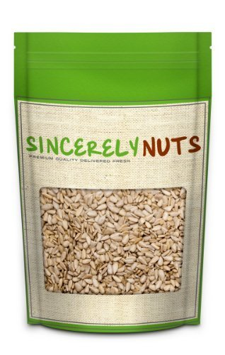 Sincerely Nuts Organic Sunflower Seeds Hulled (Raw, No Shell) 1 Lb