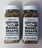 Trader Joe's Everything but The Bagel Sesame Seasoning Blend 2.3 Oz (Pack of 2)