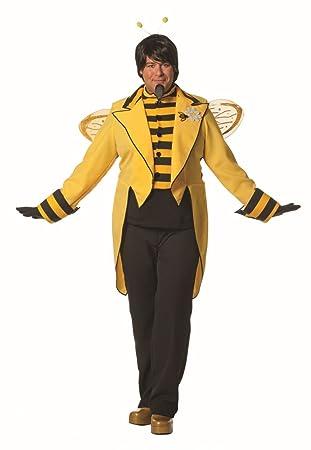 Herren Kostum Bienenkonig Biene Frack Karneval Fasching Gr 54