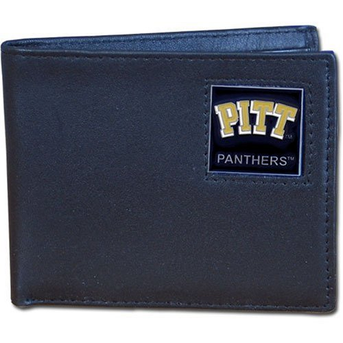 Pittsburgh Panthers Leather Bi-fold Wallet