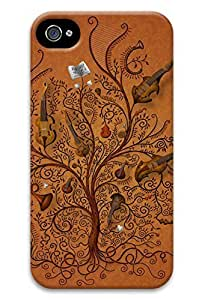 Creative tree of pc protection shell, suitable for Iphone 4 4s