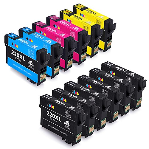 IKONG 12-Pack Epson 220XL 220 Ink Cartridge Replacement