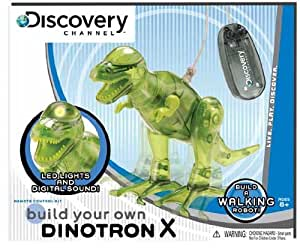 Discovery Kids Build Your Own Dinotron X dinosaur