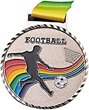 AnsenSUN Sports Medals, Sports Medals Metal Awards, Football Game Medals Golden Silver Copper Soccer Sports Co