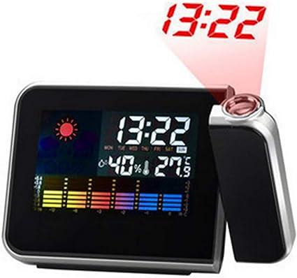 ZUEN Horloge de Projection, Radio réveil FM, réveil