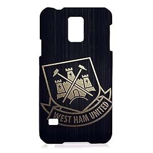 DIY Design FC West Ham United Football Club Phone Case Cover For Samsung Galaxy S5 3D Plastic Phone Case