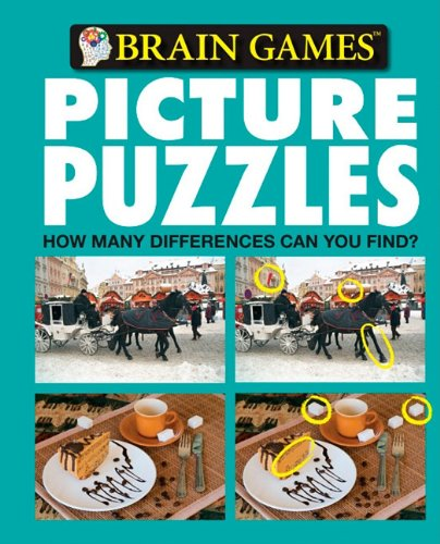 Brain Games Picture Puzzles: How Many Differences Can You Find? No. 6