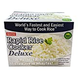 Rapid Brands B01CZ1CD60 Rapid Rice Deluxe Cooker, One Size, Red