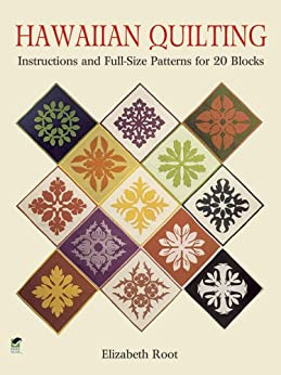 Hawaiian Quilting Instructions Full Size Patterns ebook product image