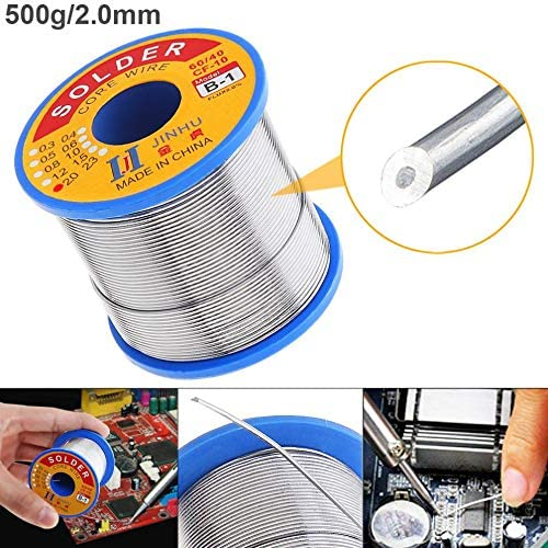 60//40 100g 1.5mm Tin Fine Wire Core 2/% Flux Welding Solder Wire for Solder Iron