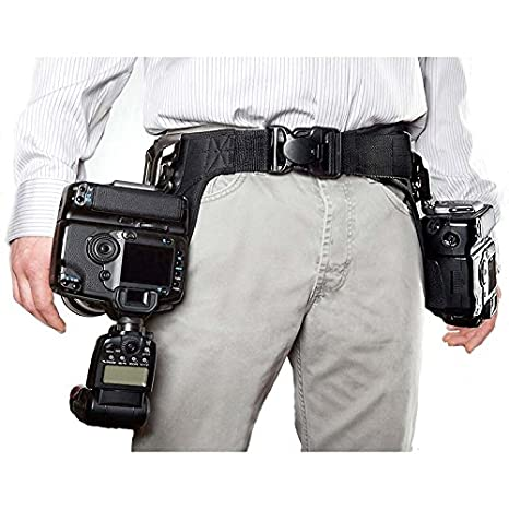 SpiderPro - Cinturón para 2 cámaras réflex digitales: Amazon.es ...