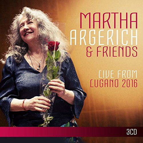 CD : Martha Argerich - Live From Lugano Festival 2016 (3 Disc)