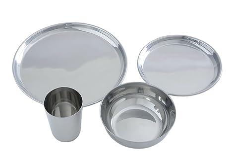 Amazon.com: Clean planetware – (Acero Inoxidable, 16 piezas ...