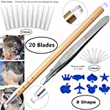 Professional Barber Hair Eyebrow Tattoo Razor Pen