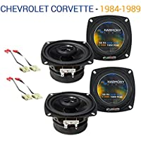 Chevy Corvette 1984-1989 Factory Speaker Replacement Harmony (2) R4 Package New