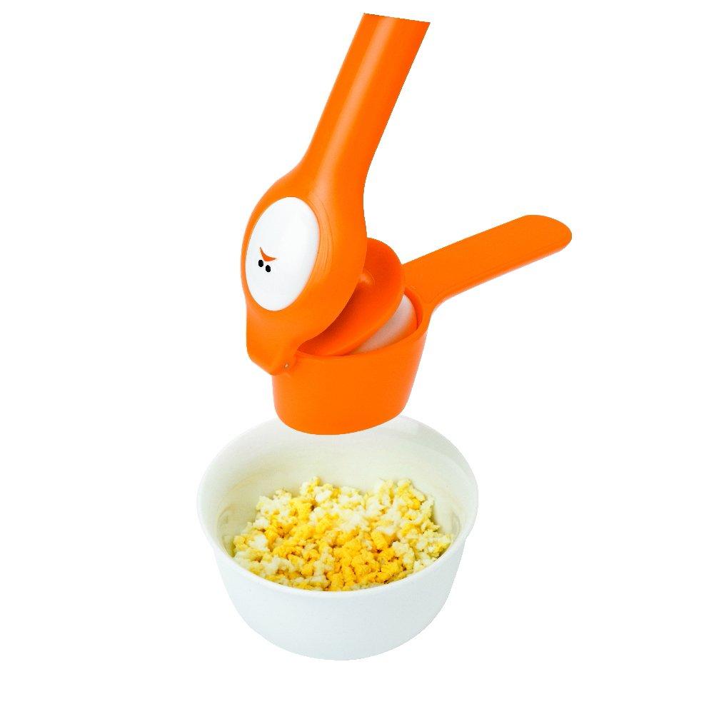Joie Kitchen Gadgets 067742-302021 Egg Press, Plastic, Orange