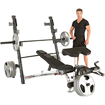 Amazon Com Fitness Reality X Class Olympic Weight Bench