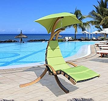 Hamaca terraza tumbona colgante xxcm muebles jardin playa for Hamaca plegable playa