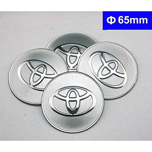 4pcs C084 65mm Car Styling Accessories Emblem Badge Sticker Wheel Hub Caps Centre Cover TOYOTA COROLLA RAV4 Camry CROWN PRIUS REIZ VIOS YARIS EZ VENZA HIGHLANDER ALPHARD PREVIA (Exterior Styling Accessories Parts)