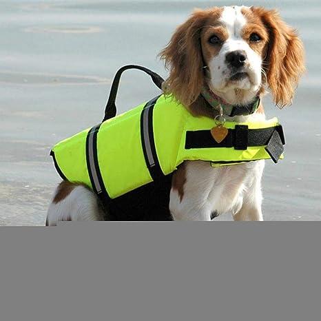 YYCEB Perro de Mascota Chaleco Salvavidas Ropa de Seguridad ...
