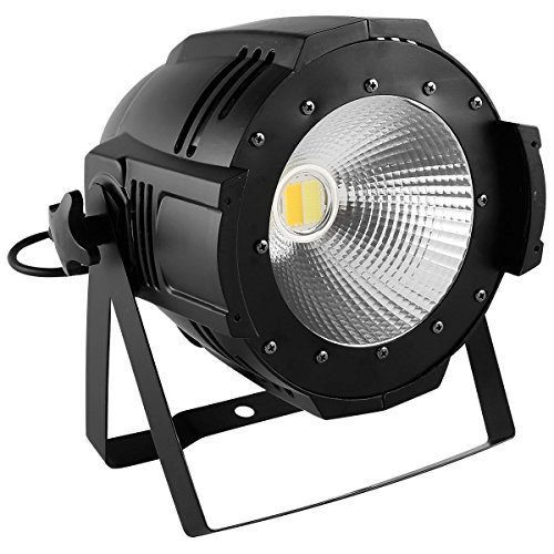 Tengchang 200W LED Stage Par Light COB Cool & Warm White 2 in1 PAR64 DMX DJ Lighting