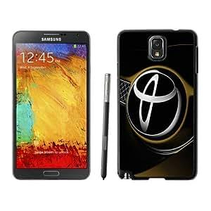 Durable Case Toyota logo 2 Samsung Galaxy Note 3 Case in Black