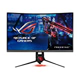 "ASUS 31.5"" Curved Gaming Monitor WQHD 1440p 144Hz DP HDMI Eye Care FreeSync/Adaptive Sync  (ROG Strix XG32VQ)"