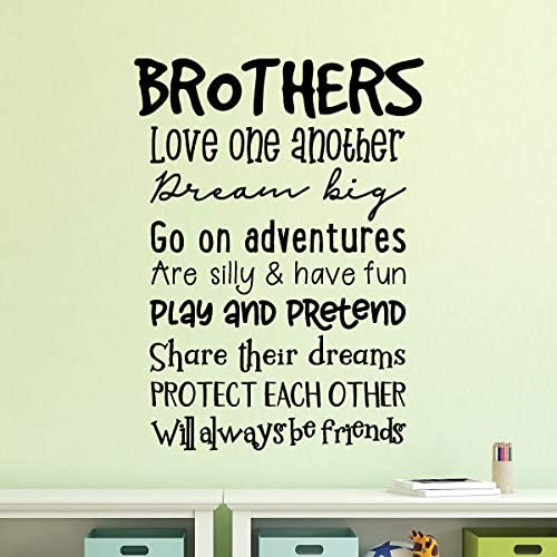 Friends Forever Vinyl Wall Home Decor Decal Quote Inspirational Adorable