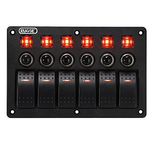rupse red 16 led high intensity led law enforcement emergency hazard warning strobe lights for. Black Bedroom Furniture Sets. Home Design Ideas