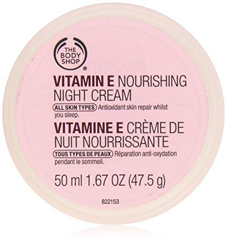 The Body Shop Vitamin-E Nourishing Night Cream for Unisex, 1