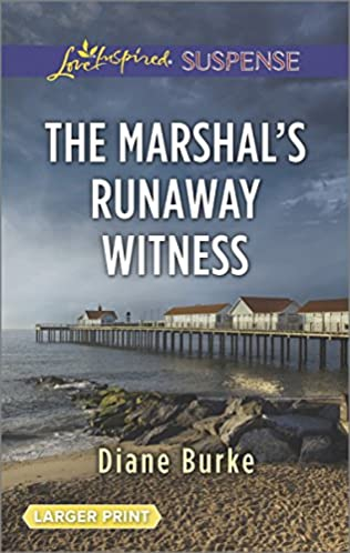 book cover of The Marshal\'s Runaway Witness